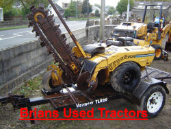 Vermeer V2050 Trencher for sale UK