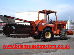 Ditch Witch 6510 Trencher with Rock Chain for sale UK