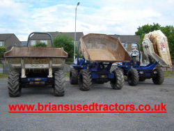 Terex Benford dumpers for sale