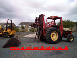 Manitou rough terrain forklift for sale