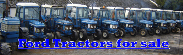 ford tractors for sale