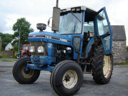 ford 7610 mk2  tractor for sale UK