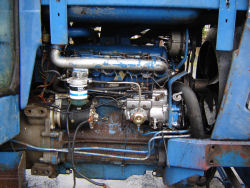 ford 7710 engine