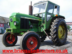 John Deere 2130 2wd 4 cylinder diesel tractor with Duncan Cab