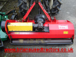 flail mower suit compact tractor for sale UK