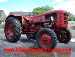 Fahr D177 4 cylinder diesel classic tractor