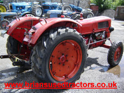 Fahr D177 4 cylinder diesel classic Tractor for sale