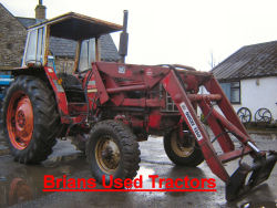 IH 674 international loader tractor for sale