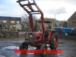 IH 674 quicke loader tractor for sale UK