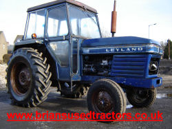 Leyland 255  tractor for sale uk classic tractor road run cabbed tractor vintage