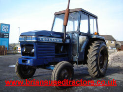 Leyland 255 4  cylinder diesel classic tractor for sale uk cabbed tractor road run