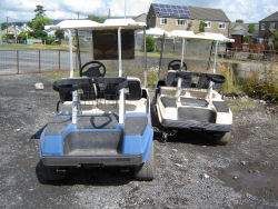 used golf buggie